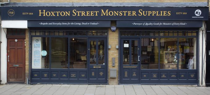 Hoxton Street Monster Supplies shop front (photo: Alistair Hall)