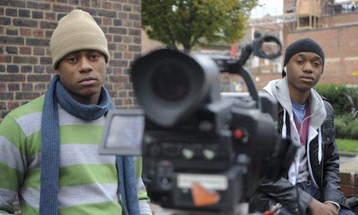 Actors on set of Dead Ends (photo: Darren Zlatareff)