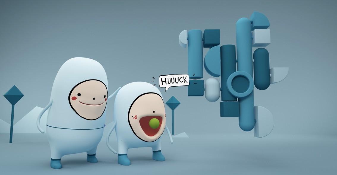 Still from animation Mr Kaplin. Donated by: Radley Yeldar