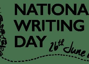 National Writing Day logo 2019